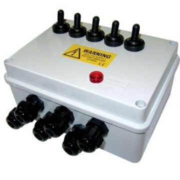 PondXpert 5 Way Junction Box